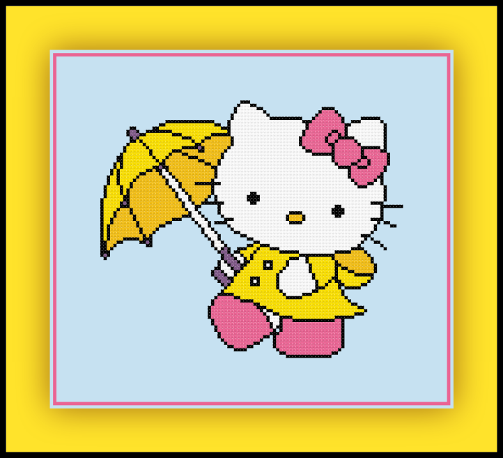Hello Kitty Rain Preview