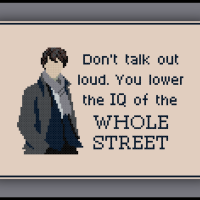 Patreon Only Sherlock Cross Stitch Pattern Quote