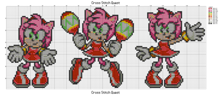 Amy Poses Pattern_Page_1