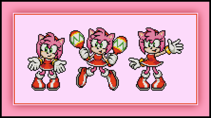 Amy Poses Preview