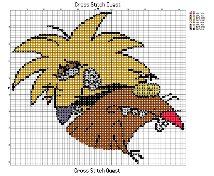 Angry Beavers Pattern_Page_1