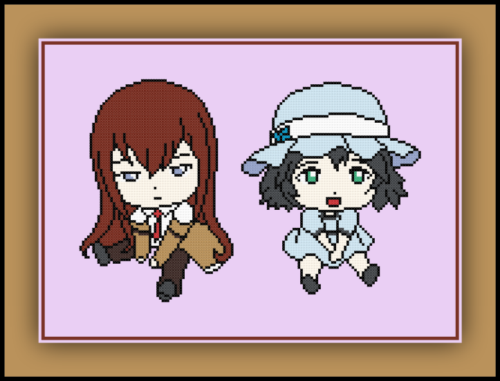 Kurisu and Mayuri Preview