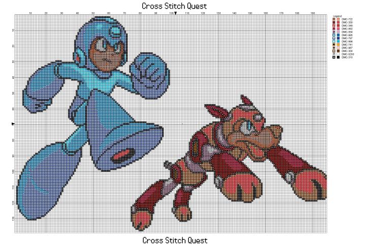 Mega Man Rush Pattern_Page_1