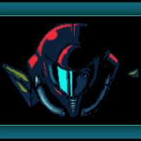 Free Samus Helmet Cross Stitch Pattern Metroid
