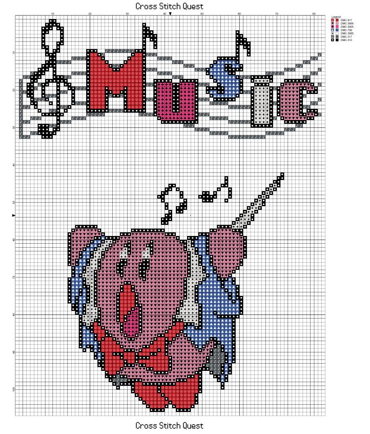 Kirby Music Pattern_Page_1