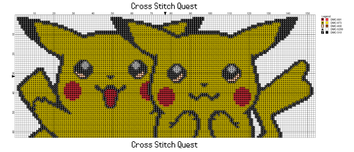 Pikachu Couple Pattern_Page_1