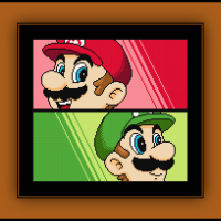 Free Mario and Luigi Cross Stitch Pattern Super Mario Bros.