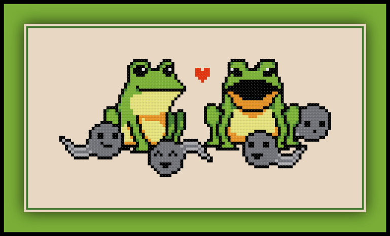 Frog Family Preview
