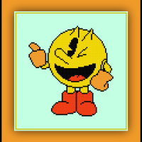 Free Pacman Cross Stitch Pattern