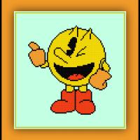 Free Pacman Cross Stitch Pattern