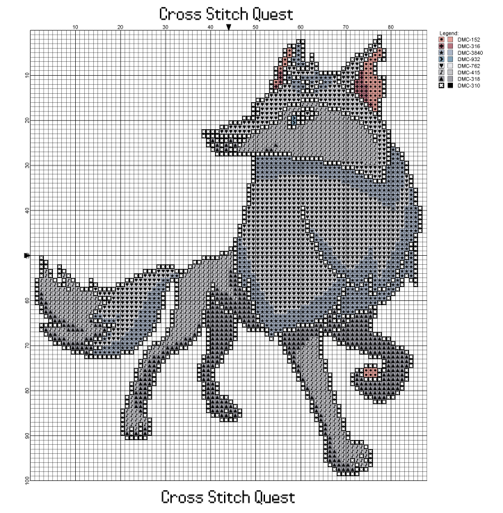 Arctic Wolf Pattern_Page_1