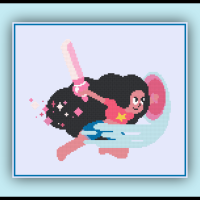 Patreon Only Stevonnie Cross Stitch Pattern Steven Universe
