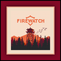 Free Firewatch Logo Cross Stitch Pattern and Review