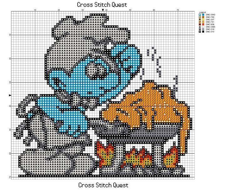 Chef Smurf Pattern_Page_1