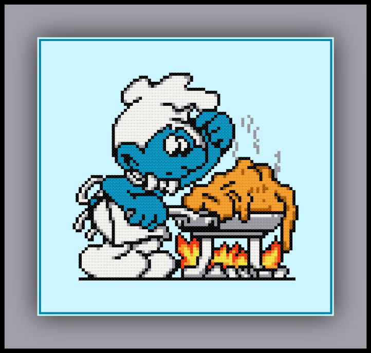 Chef Smurf Preview