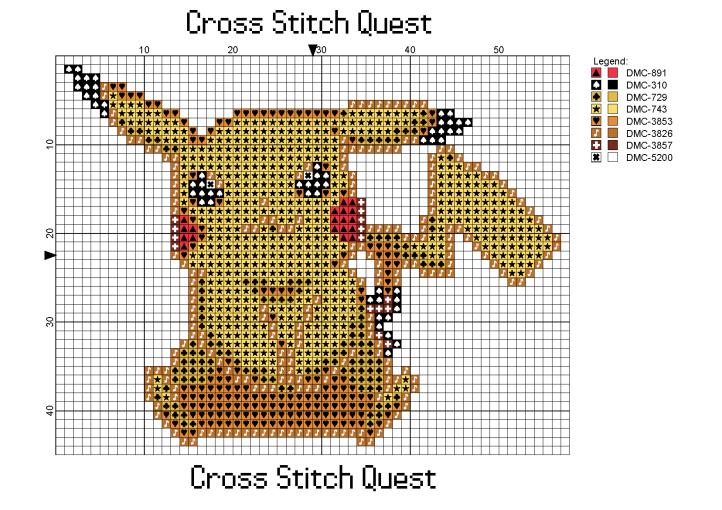 Pikachu Sitting Pattern_Page_1