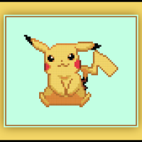 Free Pikachu Cross Stitch Pattern Pokemon