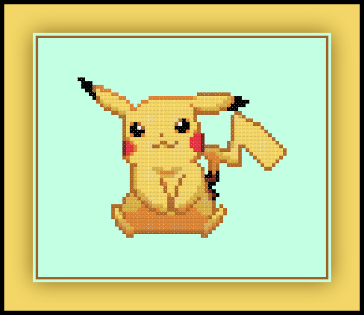 Pikachu Sitting Preview