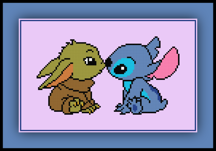 Yoda and Stitch 1 Preview