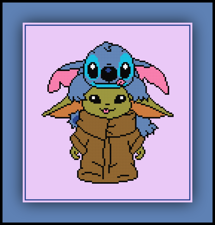 Yoda and Stitch 2 Preview