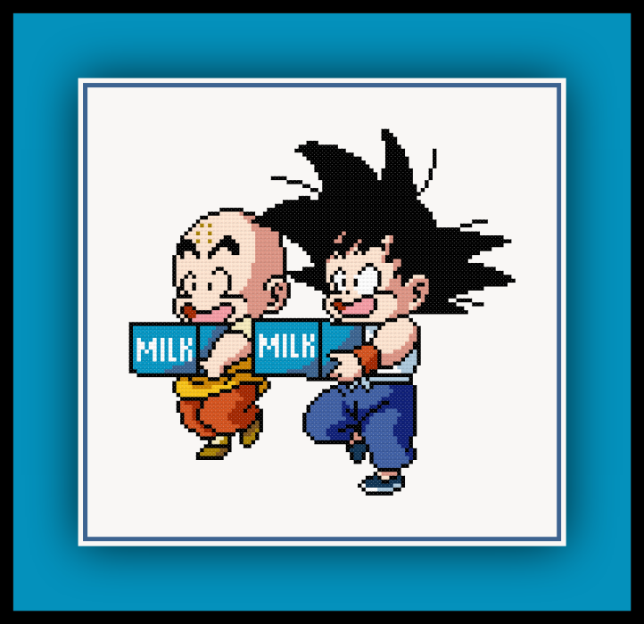 Goku and Krillin Preview