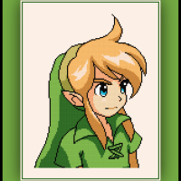 Free Link Cross Stitch Pattern Zelda