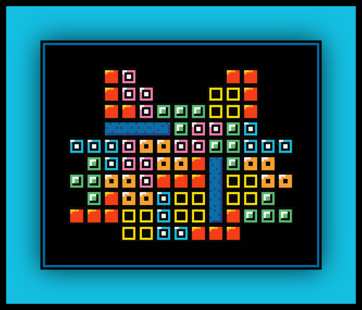Tetris Cat Preview