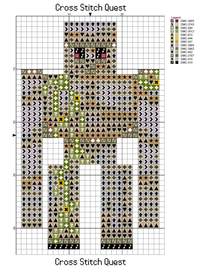 Iron Golem Pattern_Page_1