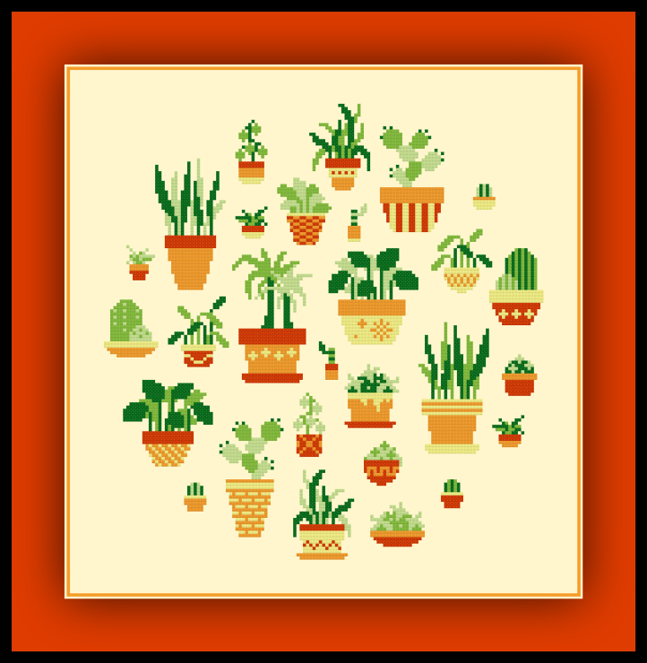 Potted Plants Preview