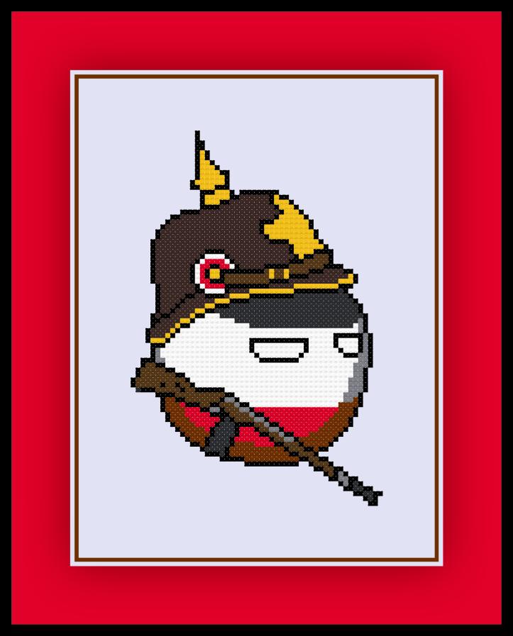 Imperial Germany Polandball Preview