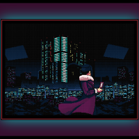 Free VA-11 Hall-A: Cyberpunk Bartender Action Cross Stitch Pattern