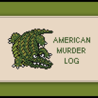 Free Alligator Cross Stitch Pattern American Murder Log