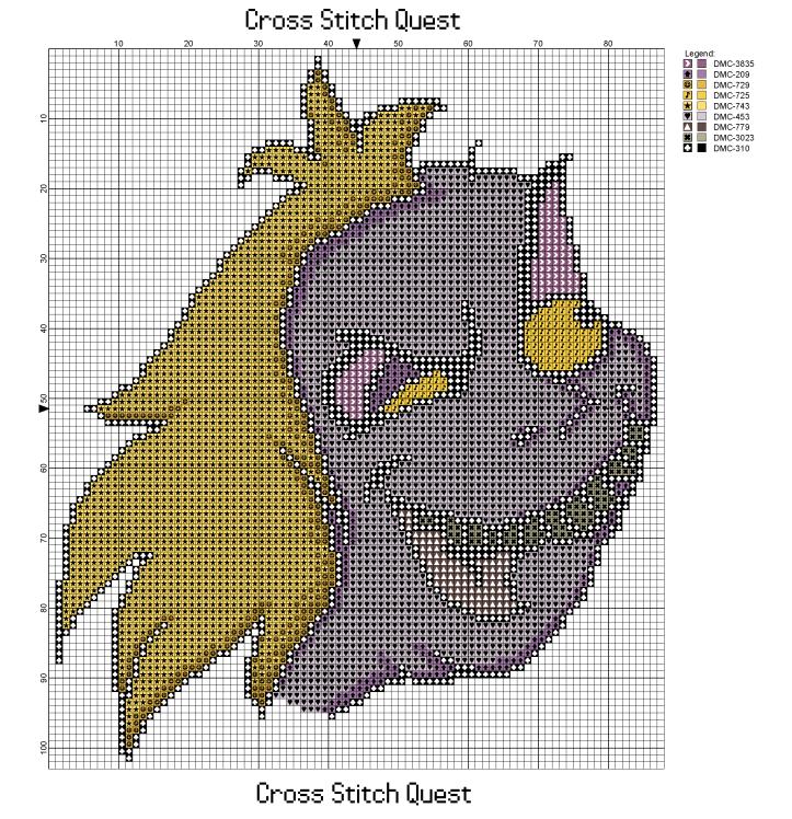 Beetlejuice Portrait Pattern_Page_1