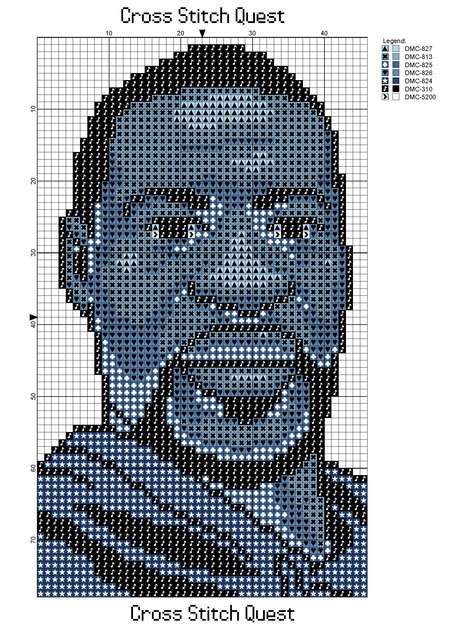 George Floyd Blue Pattern_Page_1