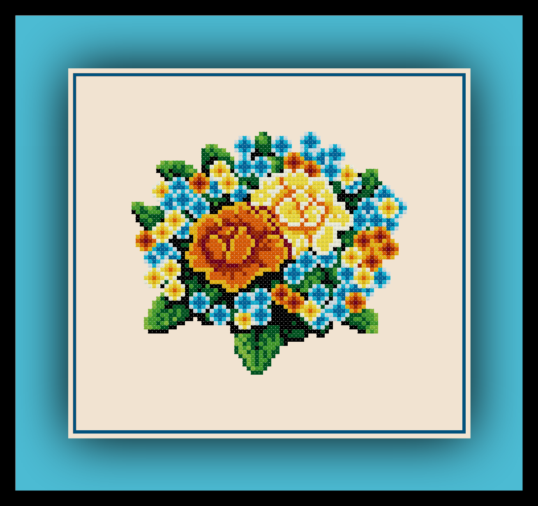 Rose Bouquet Preview