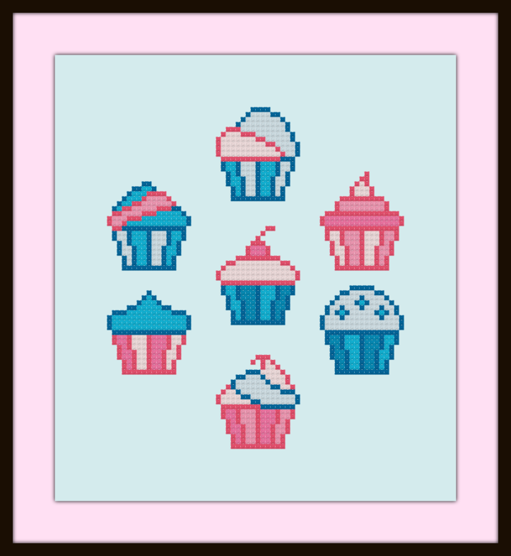 Cupcakes Trans Colors Preview