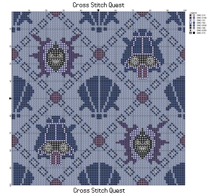 Cloyster and Shellder Pattern_Page_1