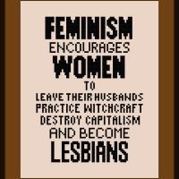 Free Feminism Quote Cross Stitch Pattern Lesbian Witchcraft
