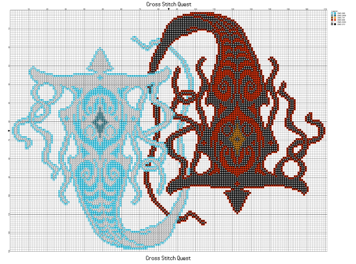 Vaatu and Raava by Piphybuilder88 Pattern_Page_1