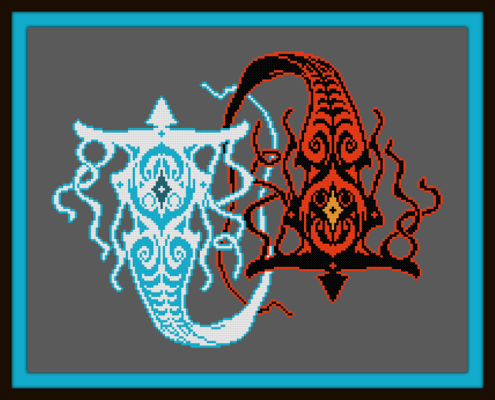 Vaatu and Raava by Piphybuilder88 Preview